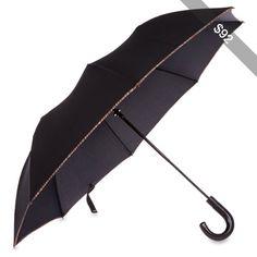 PAUL SMITH ACCESSORIES Multi-striped trim umbrella