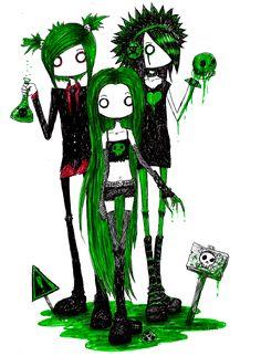 Poison Party Girls by DemiseMAN.deviantart.com
