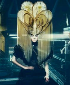 inspiration avant garde hair by polka.style: Yeliz Kaya