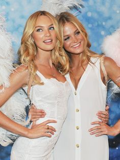 Candice Swanepoel & Erin Heatherton