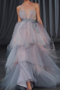 I always loved Christian Sirian's designs on Project Runway - This beautiful gown is from his Spring 2013 collection!