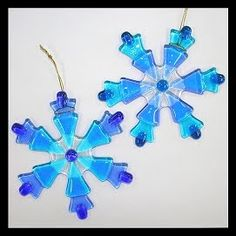 News from the Purple Pomegranate: Fused Glass Christmas Ornaments