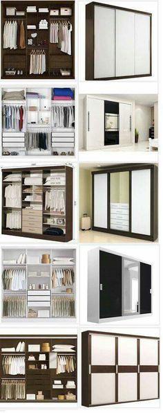 Kast-indeling slaapkamer   interior   Pinterest   Interiors