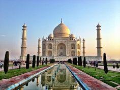 Taj Mahal in India!
