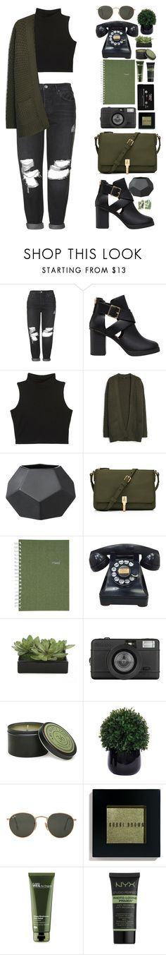 """Без названия #87"" by sinyukovayulya ❤ liked on Polyvore featuring Topshop, Pull&Bear, MANGO, Elizabeth and James, Mead, CASSETTE, Lux-Art Silks, Lomography, Archipelago Botanicals and Ray-Ban"
