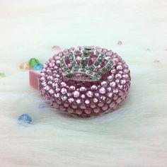 Elegant Bling Rhinestone Crown Measuring Tape by SweetPotatoCookie, $30.00