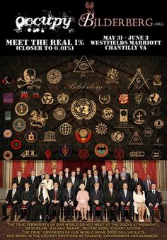 Illuminati revealed! ;) I am thankful I know who is in control........and none of these humans qualify.