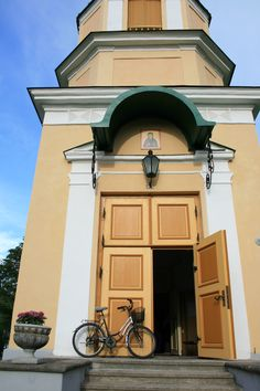 Church in Haapsalu, Estonia
