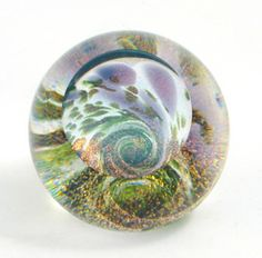 Fireball Paperweight from Glass Eye Studio at www.appalachianspring.com $68.00