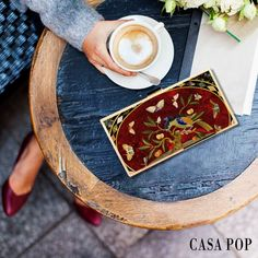 Spring spree is taking over; adorn yourself in print and pop of the season! On a coffee date with friends? Don't leave behind your Casa POP's Precious POP clutch! #Style #Woman #Stylish #Beautiful #fashionable #Vibrant #fashionstyle #Inspiration #Latest #Trendy #PreciousPOP #Clutch #Collection #Fashion #fashiondesigner #streetstyle #CasaPOP