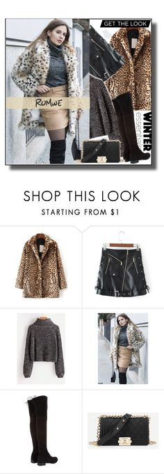 """""""Romwe.3."""" by smajicelma ❤ liked on Polyvore featuring Stuart Weitzman, gift and sale"""