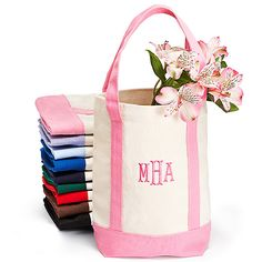 bridesmaid party gifts Small Personalized Canvas Tote