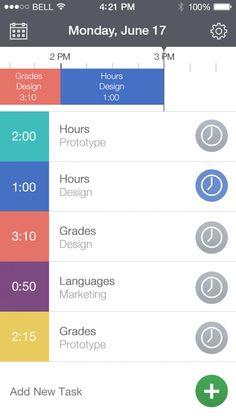 ios7 app design - Perfect Weather
