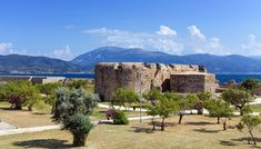 The Rio fortress (Castle of Morea) is located in opposition to the Antirrio fortress (Castle of Rumelia) in Antirrio. Lovely beaches await you! You will enjoy splendid views from the seafront! #Rio #Peloponnese #Greece #Monterrasol #travel #privatetours #customizedtours #multidaytours #roadtrips #travelwithus #tour #tourism #destination #landscape #nature #architecture #castle #fortress #sea #beach #gulf #mountains #green #blue #sun #history #sand #summer #beauty #beautiful #thisisgreece Summer Beauty, Corinthian, Day Tours, Monument Valley, Beaches, Mount Rushmore, Rio, Greece, Tourism