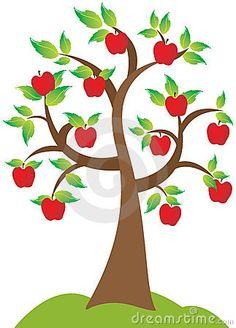 Apfelbaum Stockbild - Bild: 15010001