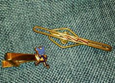 Vintage Tie Bars Clips Gas and Electric Company Service Nu-Lok $10