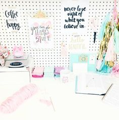 Tack up some inspirational quotes. | 54 Ways To Make Your Cubicle Suck Less