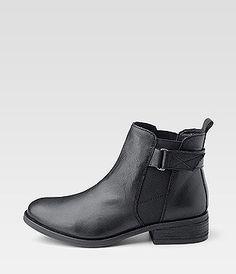 Cox Trend Bootie, Black Boots