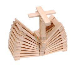 kapla voor kleuters Popsicle Stick Crafts, Craft Stick Crafts, Crafts For Kids, Cube Pattern, Pattern Blocks, Marble Tracks, Wooden Building Blocks, Make Time, Kids And Parenting