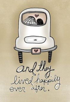 I could not be happier with this print - http://www.etsy.com/listing/61337005/and-they-lived-happily-ever-after