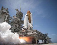 Space Shuttle launch. #nasa