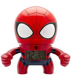 Spider Man Digital Light Up Alarm Clock