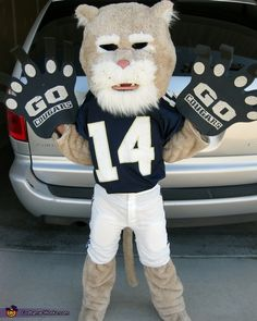 Amazing Mini Cougar Mascot Costume - 2012 Halloween Costume Contest