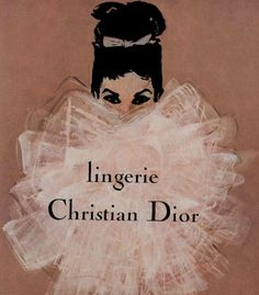 """oh-deer-me: """" """" Chistian Dior Lingerie 60's Ad Campaign """" """""""