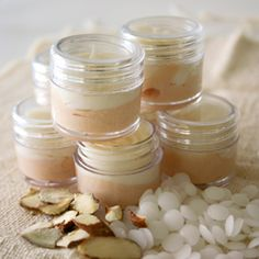 Vanilla Almond Whipped Lip Butter This site also has great recipes for making your own Beauty Products for every member of the family