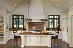 French Countryside - traditional - kitchen - orlando - Phil Kean Design Group