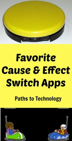Favorite cause and effect switch apps for students with visual impairments