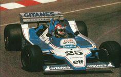 1979 Monaco Ligier Gitanes JS11 Patrick Depailler