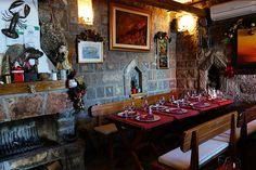 In a restaurant of the Budva Old Town, Montenegro. Beautiful Sunrise, Best Dishes, Fishing Villages, Montenegro, Old Town, Travel Ideas, Night Life, Restaurant, Board