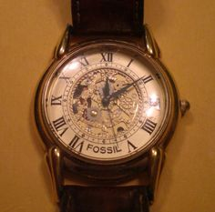 Vintage Fossil Watch  SHUT UP, I NEED YOU