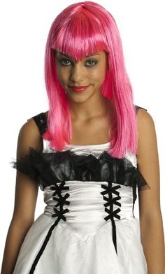 52669/144 (Child) Glitter Vamp Child Wig Pink >>> Read more reviews of the product by visiting the link on the image.