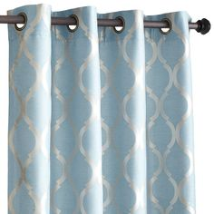 fancy plush design moorish tile curtain. Moorish Tile Curtain  Smoke Blue See more Woven jacquard construction highlights the soft geometric pattern of this classic design Fully lined and For Home Pinterest