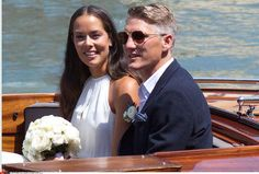Ana Ivanovic et Bastian Schweinsteiger en bateauBastian Schweinsteiger and Ana Ivanovic wedding. Venice, ITALY-12/07/2016 The Manchester United and Germany midfielder and the Serbian tennis pro have been in a relationship since 2014 after Schweinsteiger split from his long-term girlfriend, model Sarah Brandner.//MAGGIOLINIGIANMARCO_0952.0562/Credit:G.Maggiolini/SIPA/1607121706