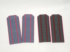 Vintage Ukrainian epaulettes. Set of 2 pairs by VintageUSSRshop
