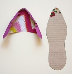 stacy cohen: paper shoe template