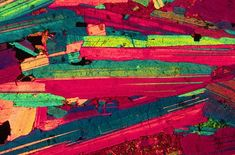 Mineralogy: optical mineralogy in crossed polars   Life in Plane Light
