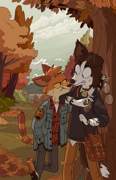 I'm not a furry I swear I just really like this art Pretty Art, Cute Art, Night In The Wood, Arte Sketchbook, Furry Drawing, Anthro Furry, Monster, Character Design Inspiration, Animal Drawings