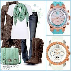 Inspiración #Pinterest Reloj #Mulco Bluemarine Glass #Aqua Nuit #Blanco