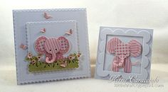 KC Impression Obsession Patchwork elephant 1 pair                                                                                                                                                                                 More