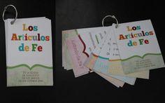 Para aprender los Artículos de Fe...para grandes y chicos!!