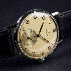Fantastic Omega Cal.265 is online now at VintageCaliber.com by vintagecaliber #omega #seamaster #watchesformen