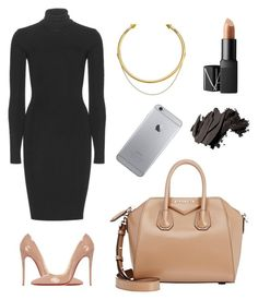 """""""Work conference"""" by bahranita-benyameen on Polyvore featuring Dolce&Gabbana, NARS Cosmetics, Christian Louboutin, Bobbi Brown Cosmetics, Givenchy and OBEY Clothing"""