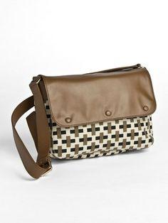 TILA MARCH + DAVID HICKS - print shoulder bag