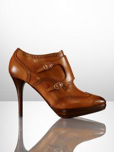 Vilinda Monk Strap Bootie - Ralph Lauren Collection Collection Shoes -  RalphLauren.com Buckle Ankle. Buckle Ankle BootsAnkle BootiesOxford ... e9322d20dafa