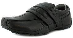 Rockstorm Maxwell - Herren / Männer Schwarze Doppel Klettverschluss Freizeit Schuhe, Widerstandsfähig & Praktisch - Schwarz - EU 40 - 45 - Schwarz, EU 42 - http://on-line-kaufen.de/rockstorm/42-eu-rockstorm-maxwell-herren-maenner-schwarze
