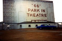Crestwood 66 Park In Theatre Demolition ~ Ahhh, the drive-in. Yet another who is no longer with us.